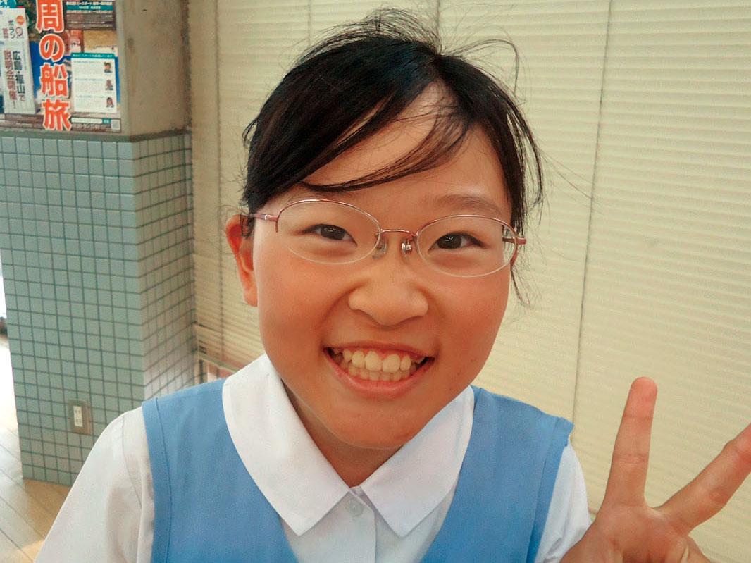 東雲小 5年 秋田ちひろさん