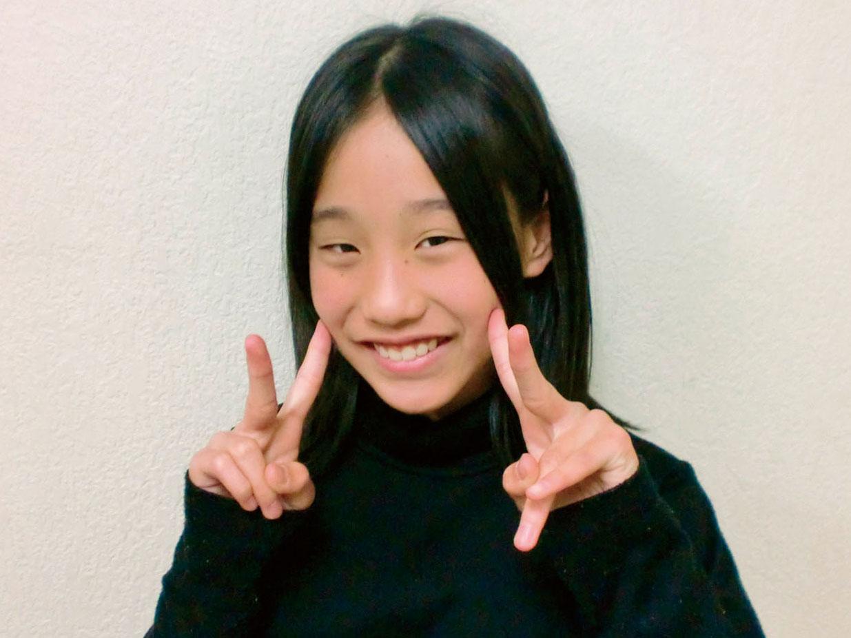 古田小 6年 竹内唯花さん