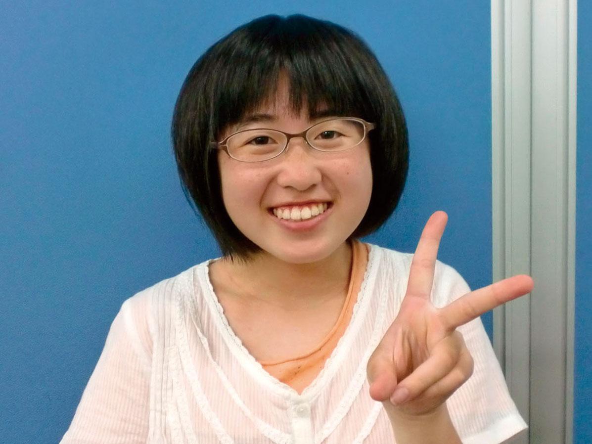 古田中 3年 野中香里さん