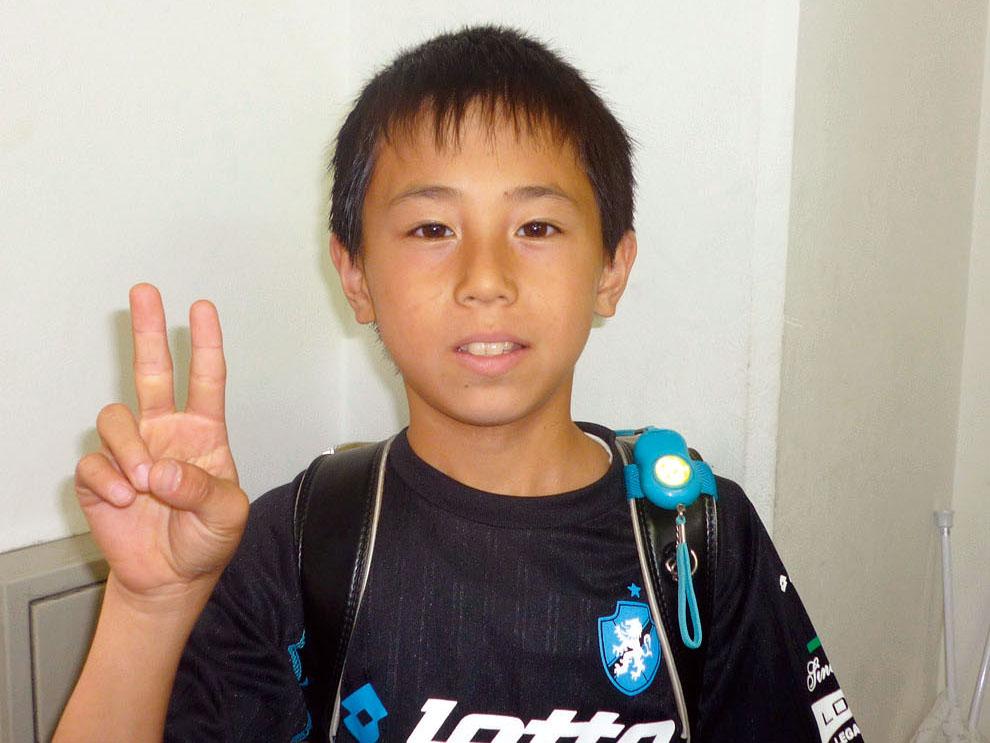 古田小 6年 永井雅人くん