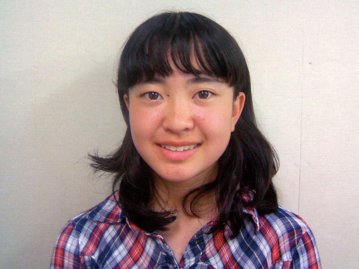 大野中 1年 小泉咲絵さん